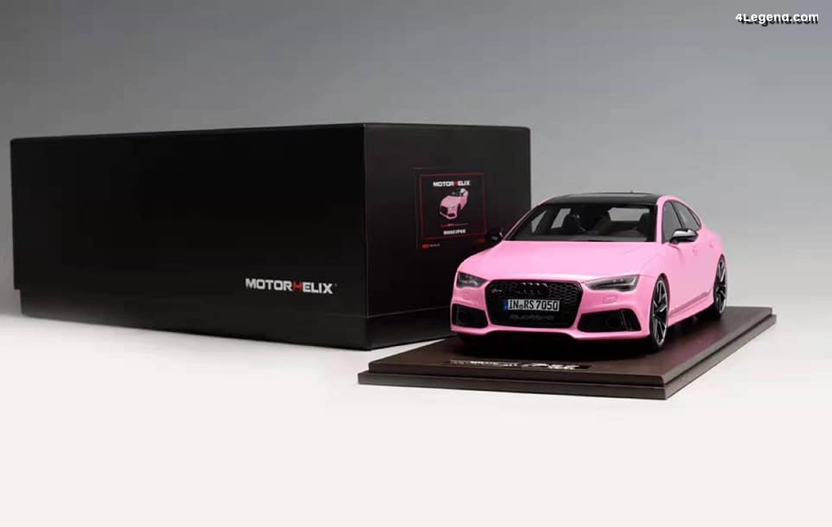 Miniatures Motorhelix 1:18 - Audi RS 7 Sportback Performance