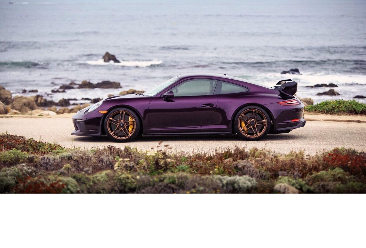 Une Porsche 911 GT3 type 991.2 de 2018 avec 93 662 euros d'options CXX