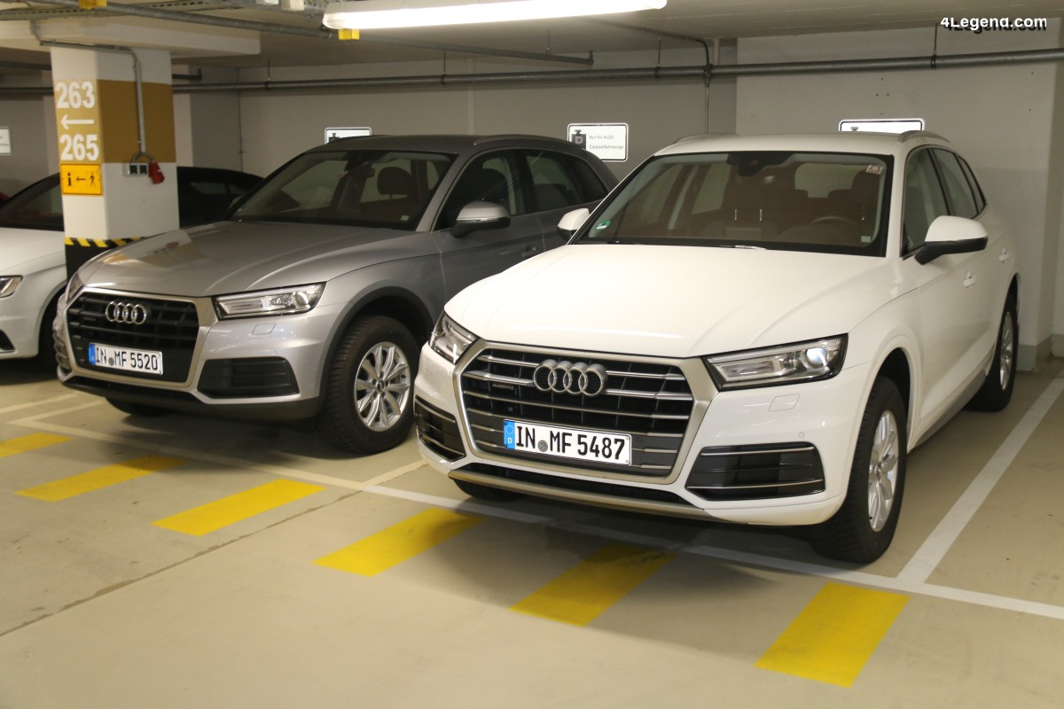 Rappel Audi Q5 Gen. 2 pour un problème de fixation de garnitures de passage de roue