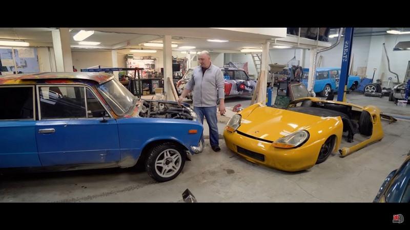 Insolite - Transformation d'une Lada en Porsche Boxster