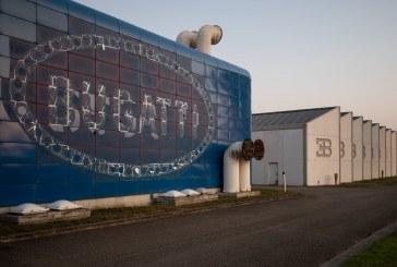 Histoire de l'usine Bugatti à Campogalliano ayant produit l'EB110