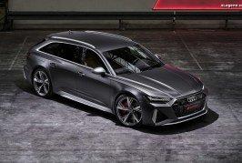 Nouvelle Audi RS 6 Avant C8 – 600 ch et 800 Nm