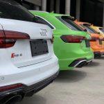 La Chine : nouvel eldorado des modèles Audi RS aux couleurs vives