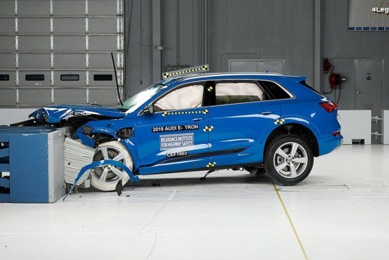 L'Audi e-tron remporte le classement «Top Safety Pick +» 2019 de l'IIHS