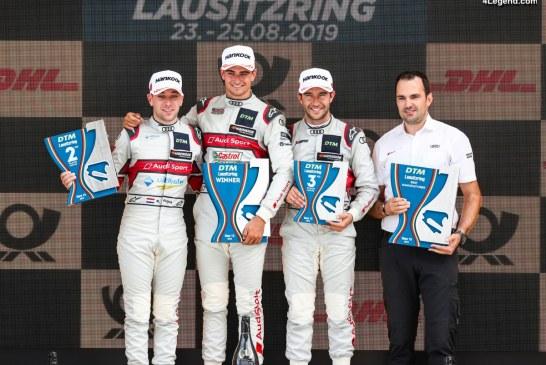 DTM – Seconde victoire de la saison du pilote Audi Nico Müller au Lausitzring
