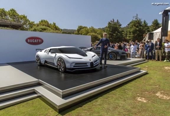 Exposition exceptionnelle de modèles Bugatti à Pebble Beach 2019