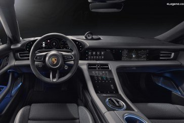 Présentation de l'intérieur du Porsche Taycan