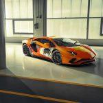 Une Lamborghini Aventador S Art Car décorée par Skyler Grey