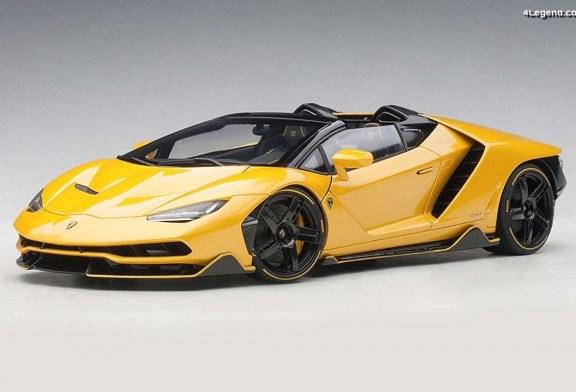 Miniatures 1:18 AUTOart – Lamborghini Centenario Roadster