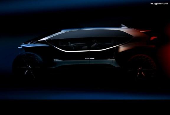 Teaser Audi AI:TRAIL quattro – Levé de voile à l'IAA 2019