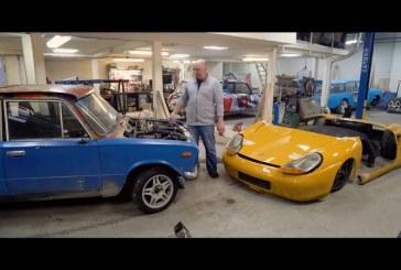 Insolite – Transformation d'une Lada en Porsche Boxster