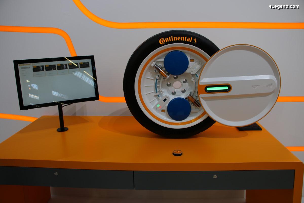 IAA 2019 - Continental Tires dévoile le système Conti C.A.R.E. pour la mobilité du futur