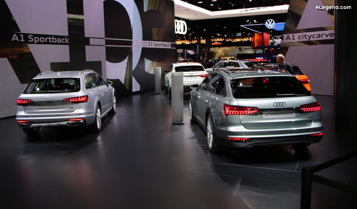 IAA 2019 - Les nouveaux modèles allroad et SUV d'Audi