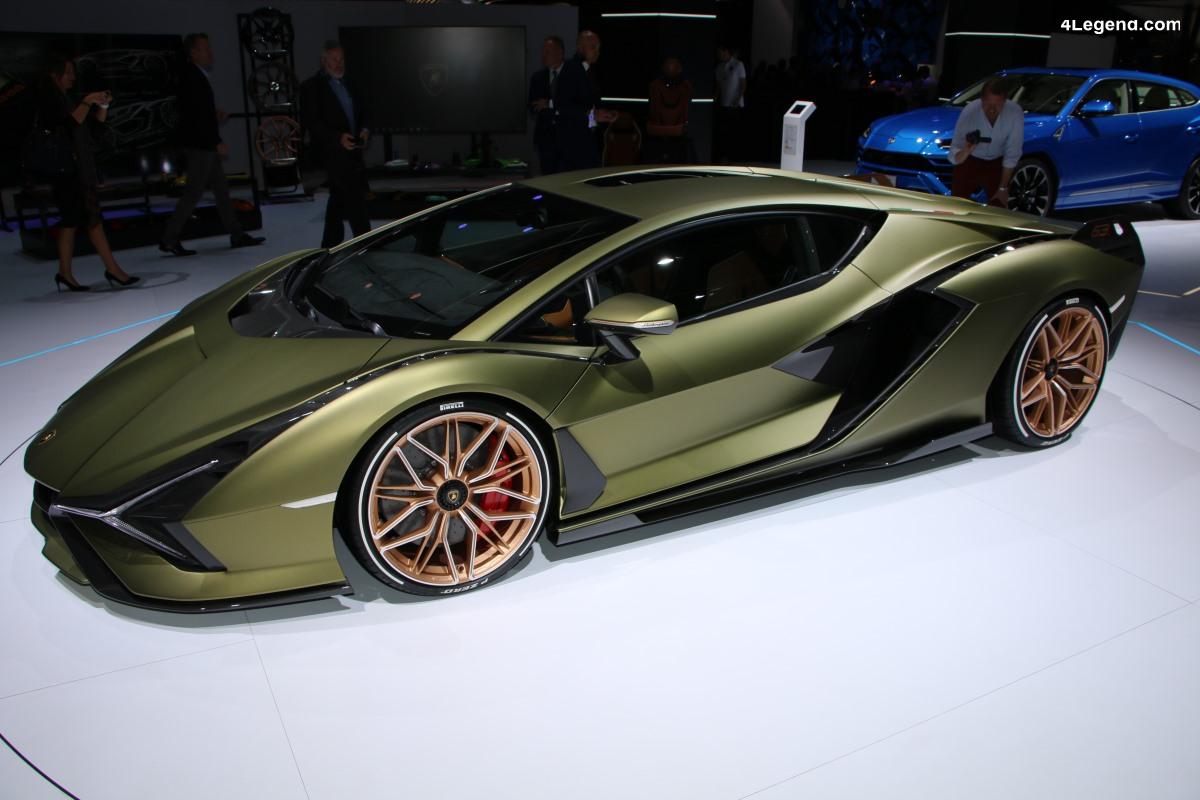 IAA 2019 - Visite en avant première du stand Lamborghini avec la Sian dévoilée