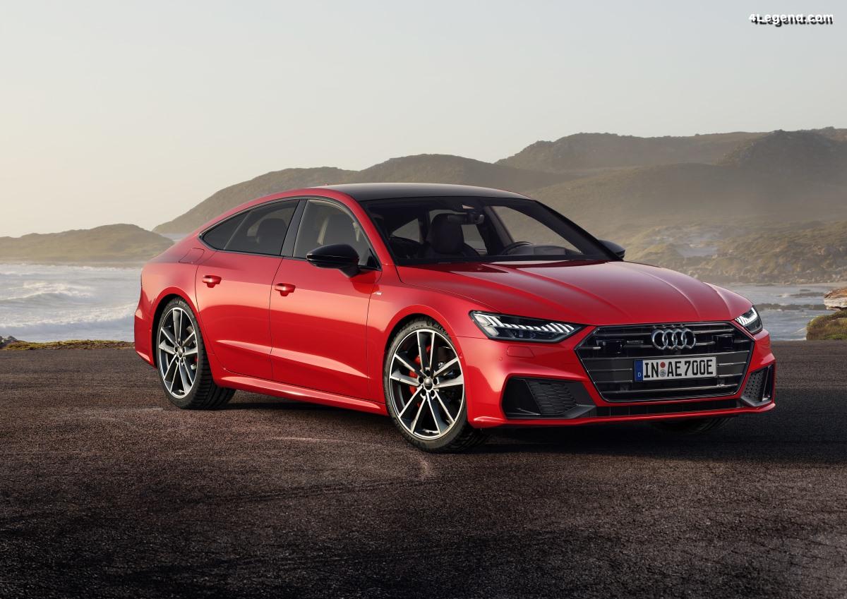 Audi A7 Sportback 55 TFSI e quattro - La GT parmi les hybrides rechargeables