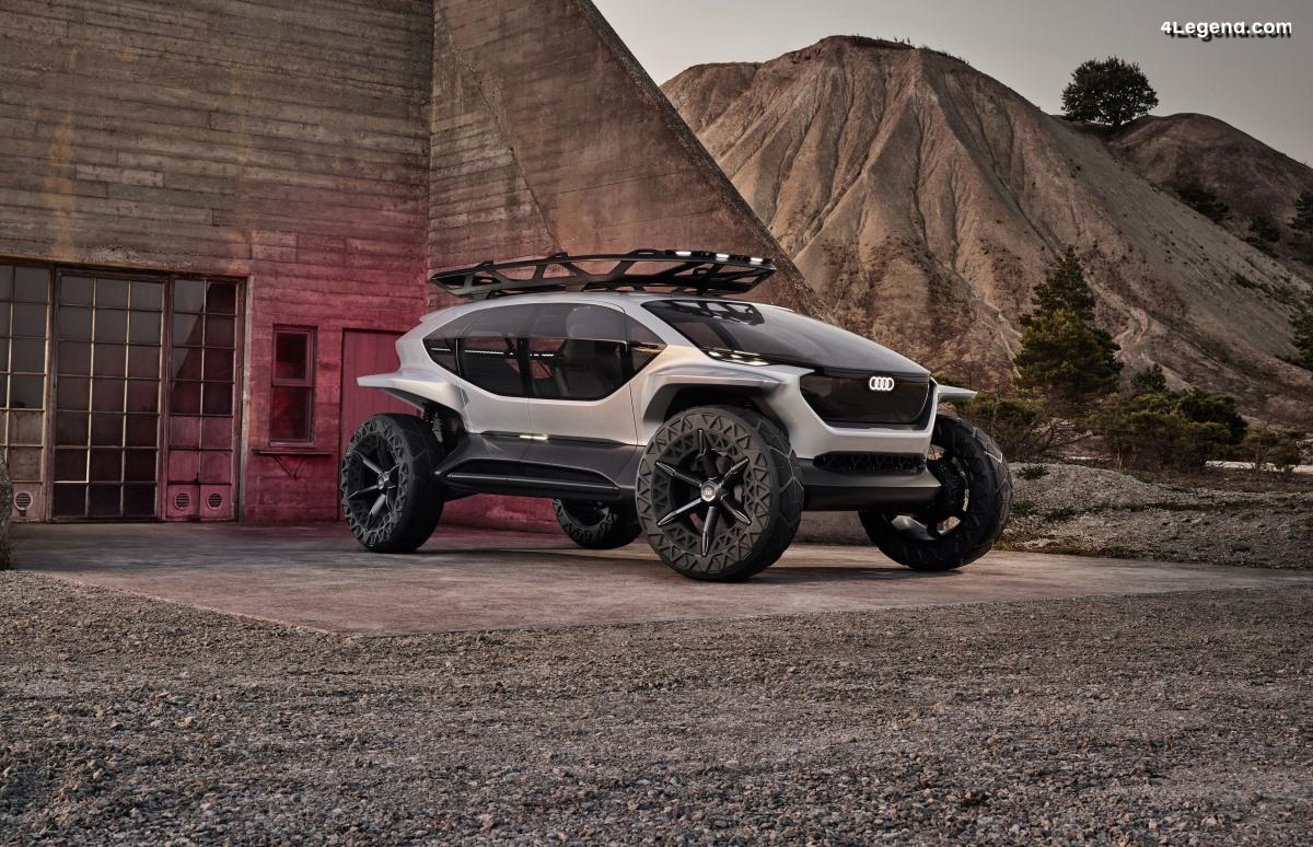 Audi AI:TRAIL quattro - Un concept de tout-terrain du futur