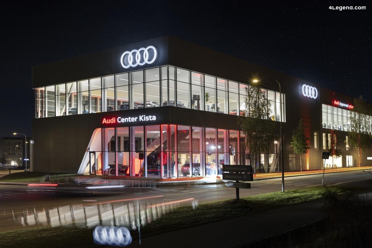 Audi Center Kista - Ouverture de la plus grande concession Audi en Suède