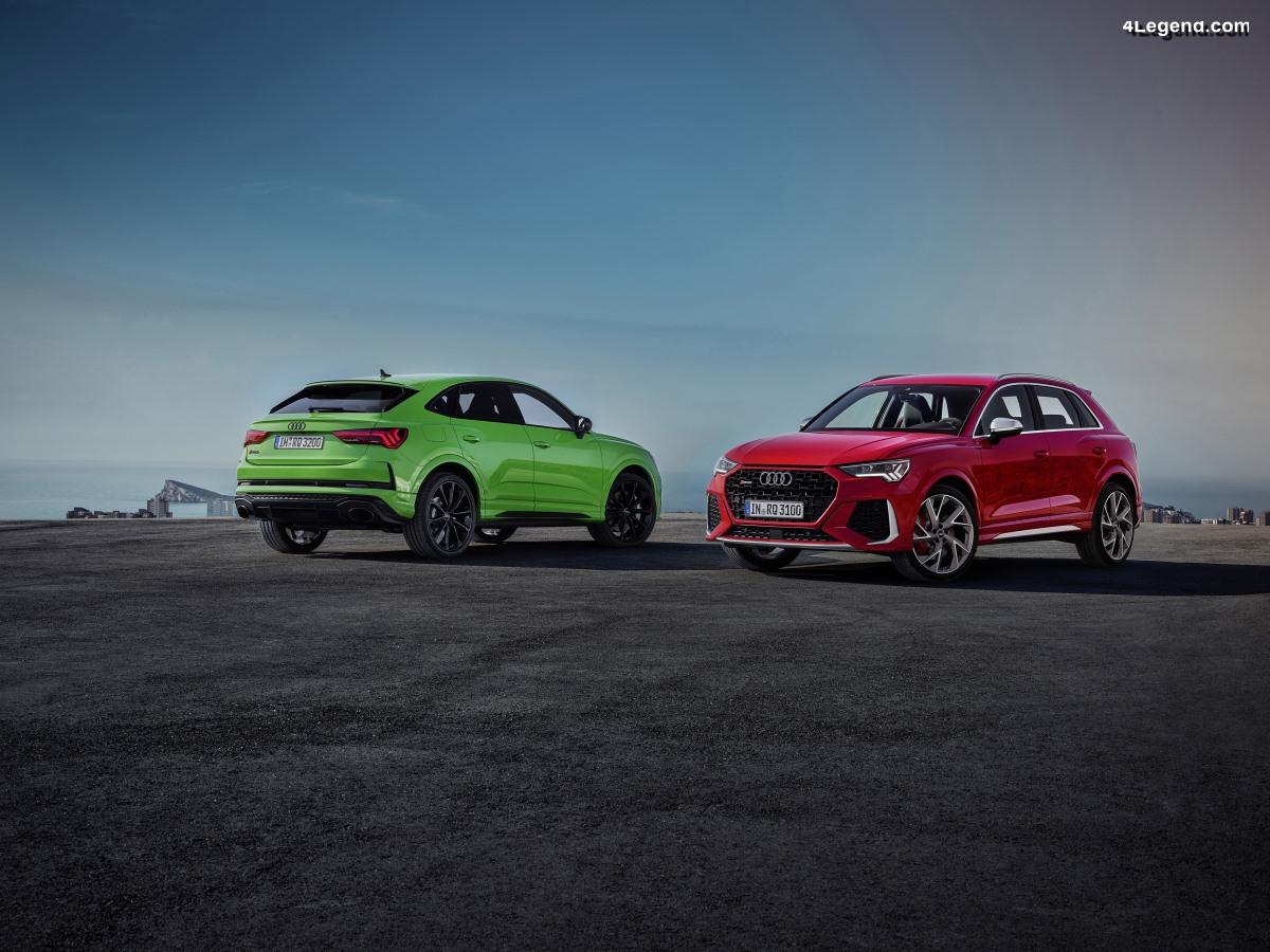 Audi RS Q3 et Audi RS Q3 Sportback  - 400 ch & 480 Nm