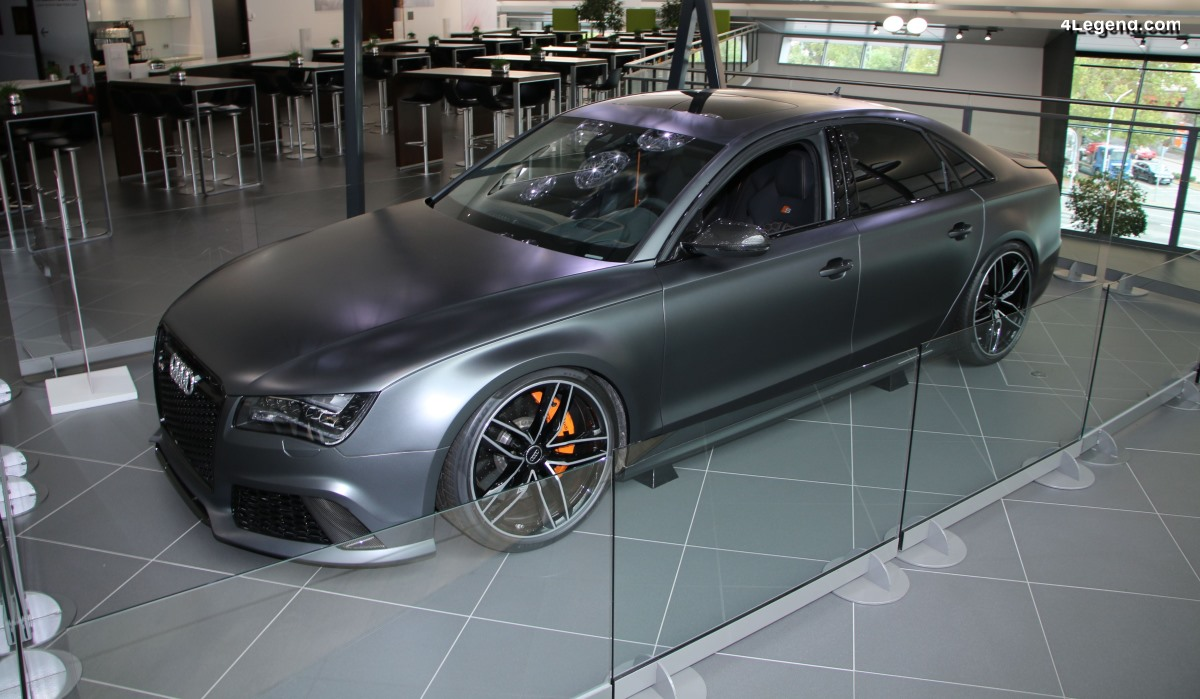 Audi RS 8 de 2013 - Une voiture laboratoire ultra sportive unique