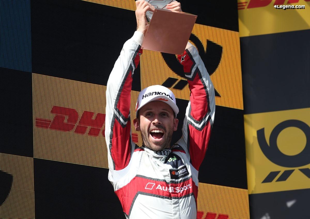 Le pilote Audi René Rast devient le nouveau champion du DTM