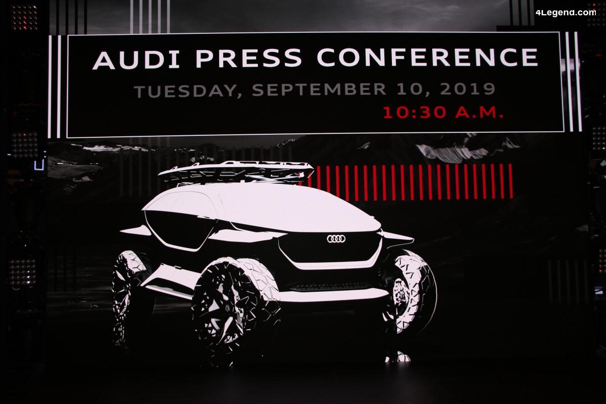 IAA 2019 - Live conférence de presse Audi à 10h30 le 10/09/19