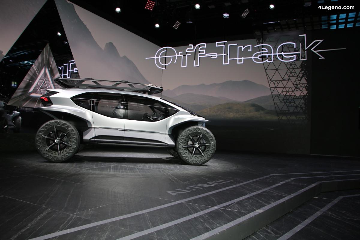 IAA 2019 - Découverte détaillée de l'Audi AI:TRAIL quattro