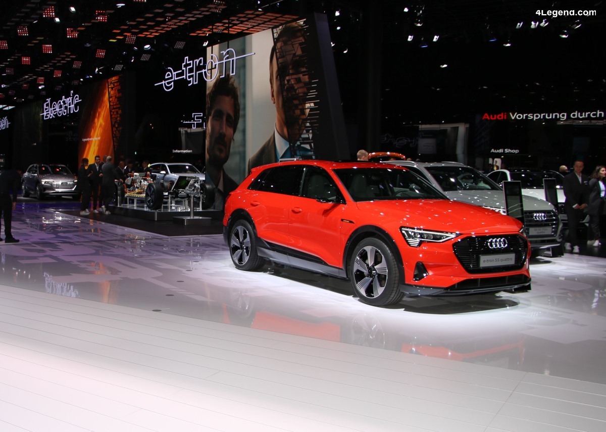 IAA 2019 - L'Audi e-tron 55 quattro à l'honneur
