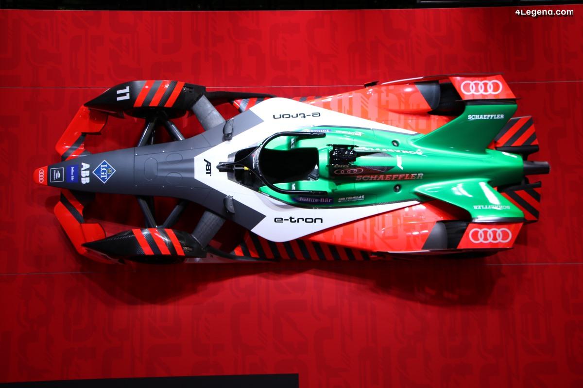 IAA 2019 - Audi e-tron FE06 de Formule E