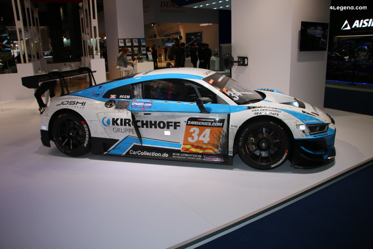 IAA 2019 - Audi R8 LMS Car Collection Motorsport