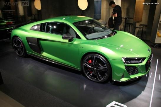 IAA 2019 – Audi R8 V10 performance coupé par Audi exclusive