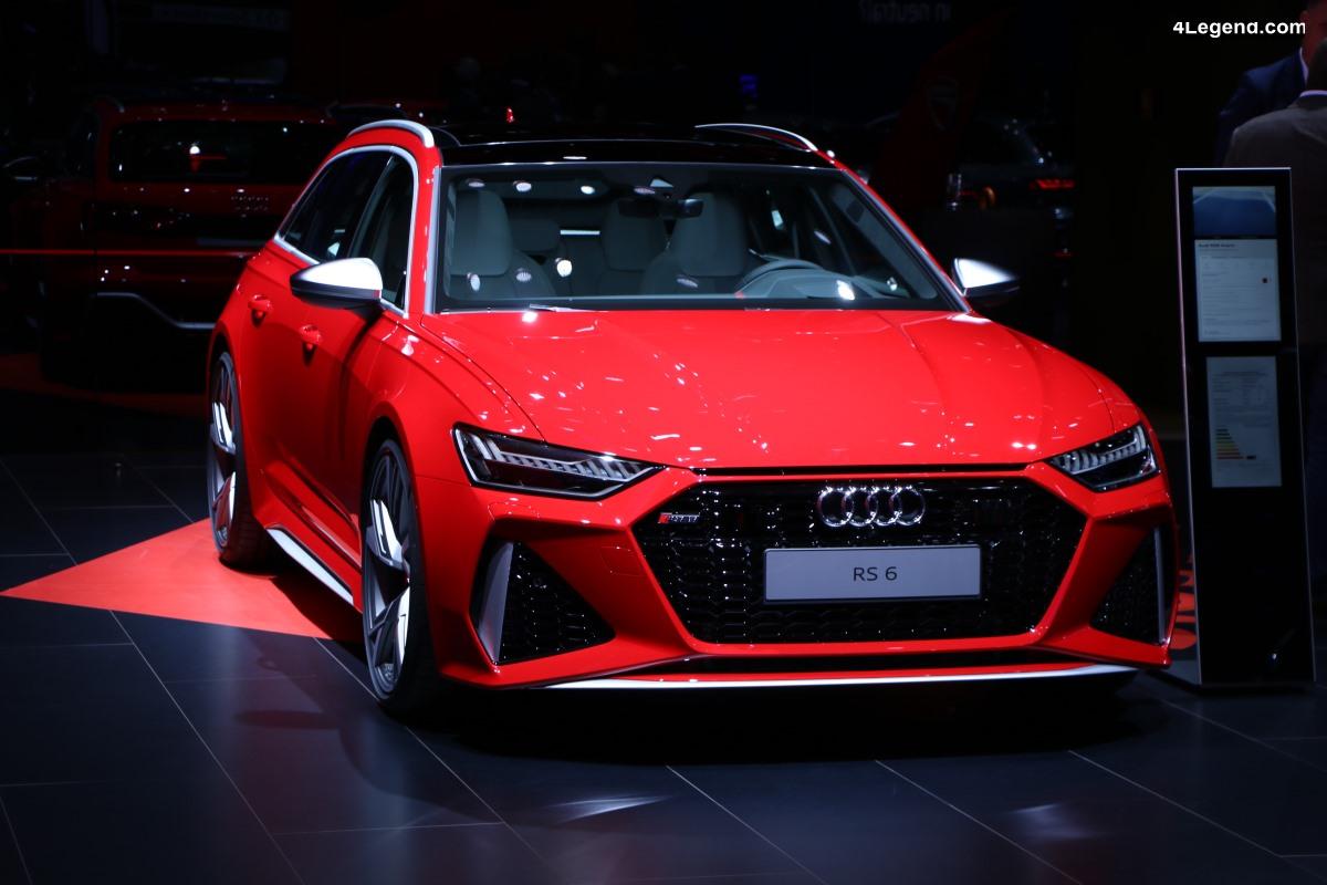 IAA 2019 - Découverte de la nouvelle Audi RS 6 Avant