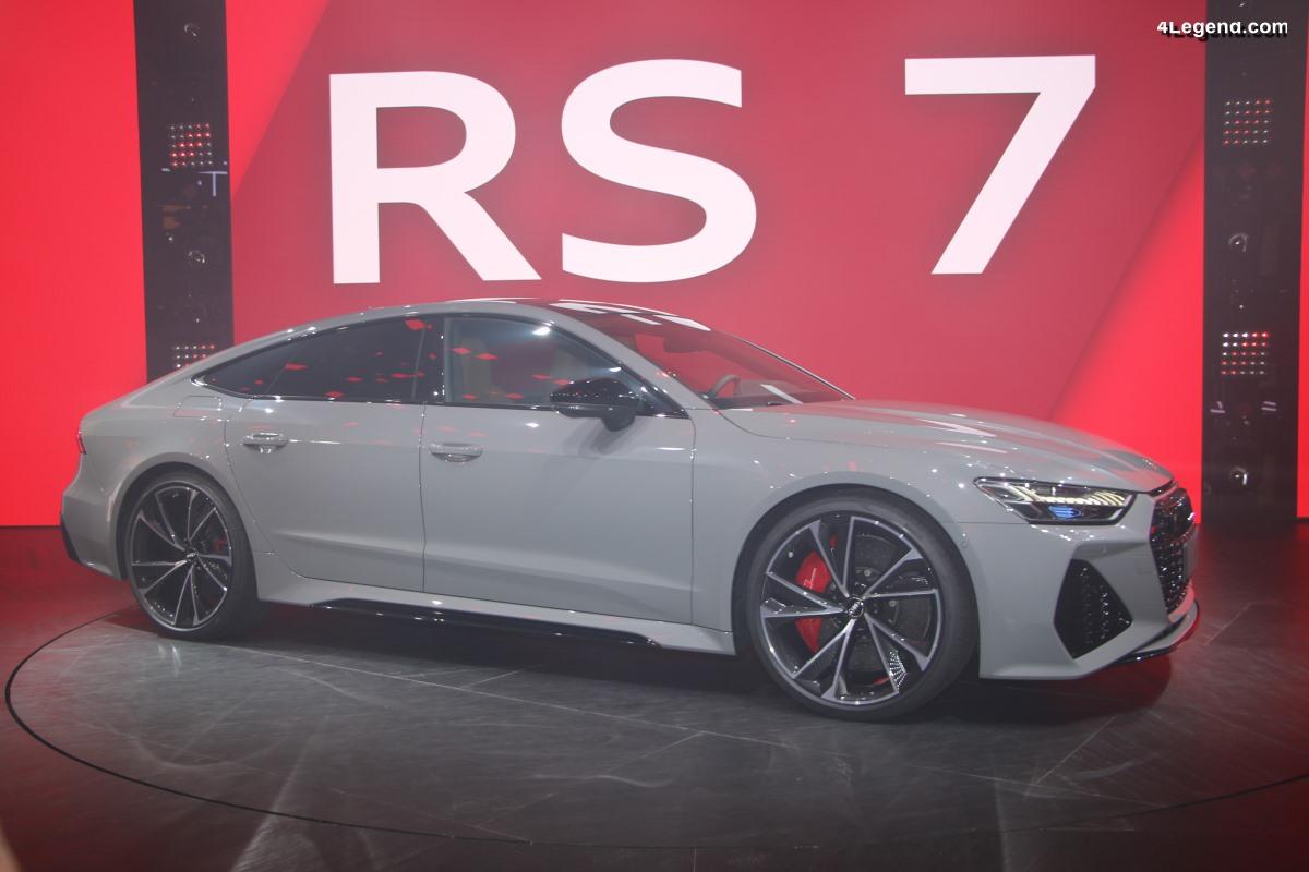 IAA 2019 - Première mondiale de l'Audi RS 7 Sportback