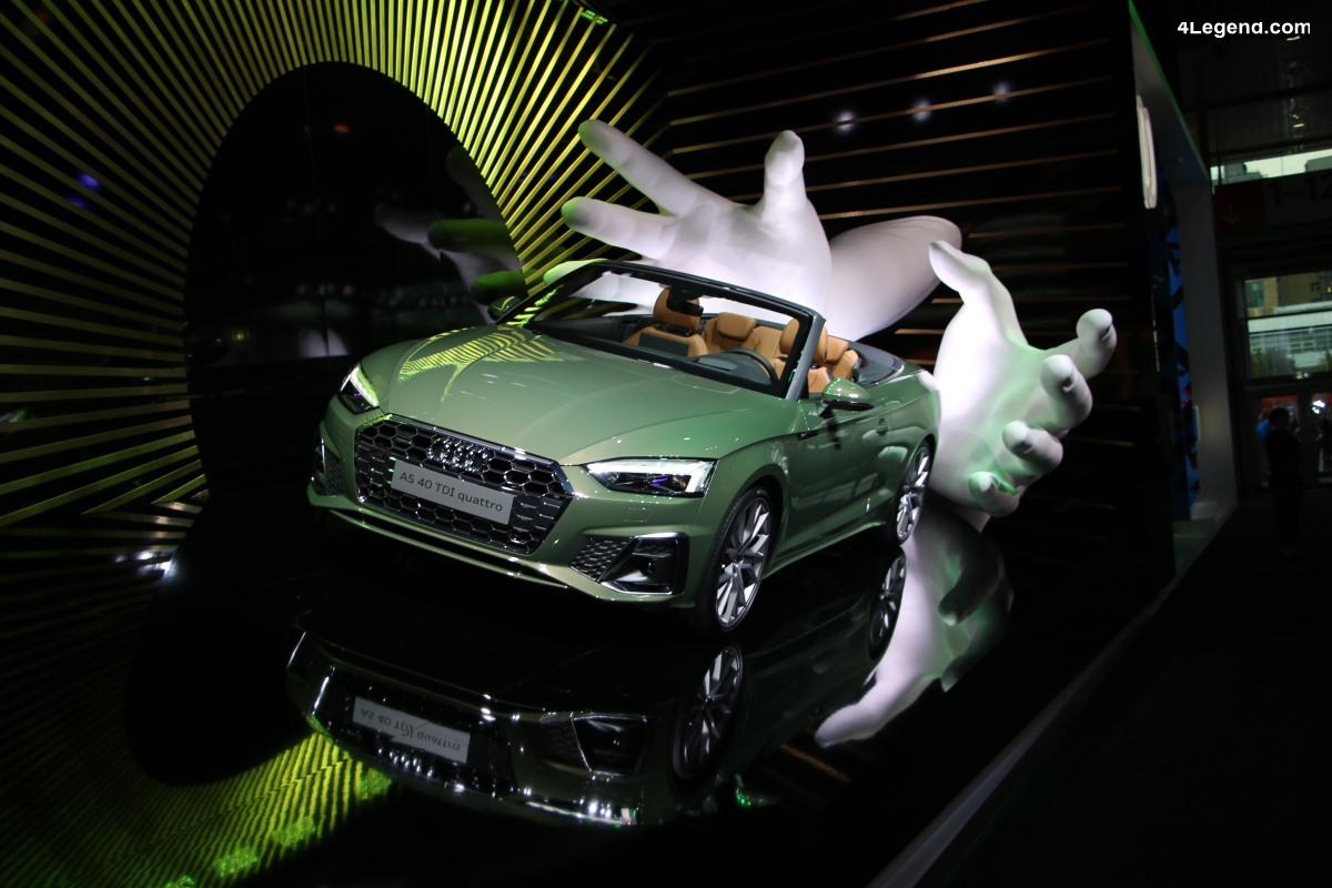 IAA 2019 - Des Audi A1 et A5 Cabriolet exposées de manière originale