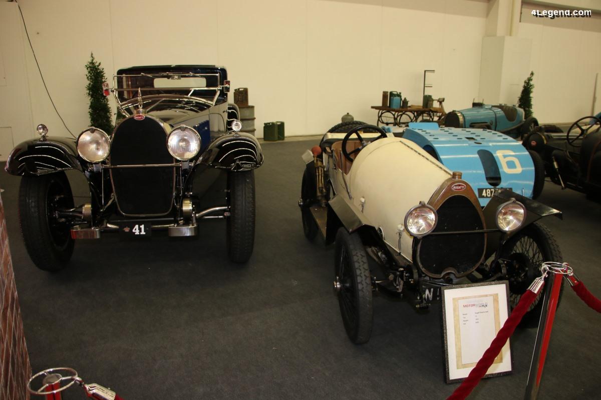 IAA 2019 - Des Bugatti exceptionnelles exposées pour les 110 ans de la marque