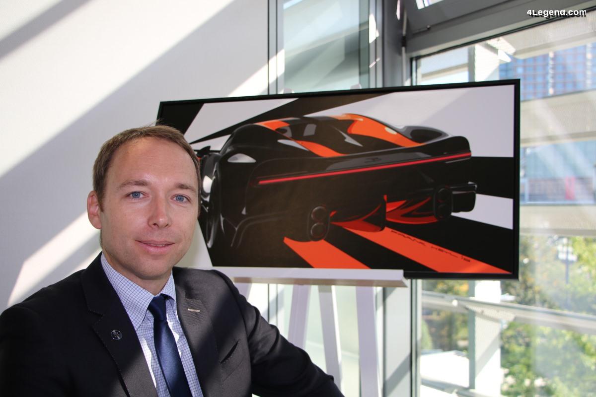 IAA 2019 - Interview exclusive de Frank Heyl, responsable du design Bugatti