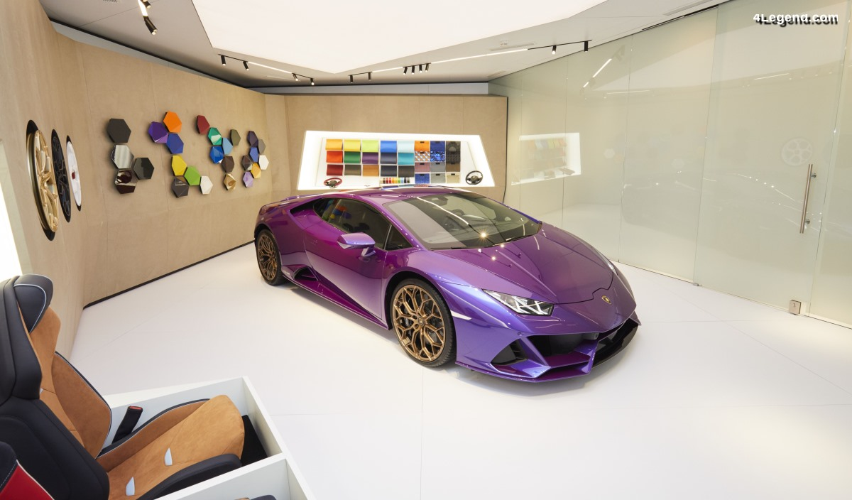 IAA 2019 - Lamborghini Huracán EVO Coupé par Ad Personam Studio