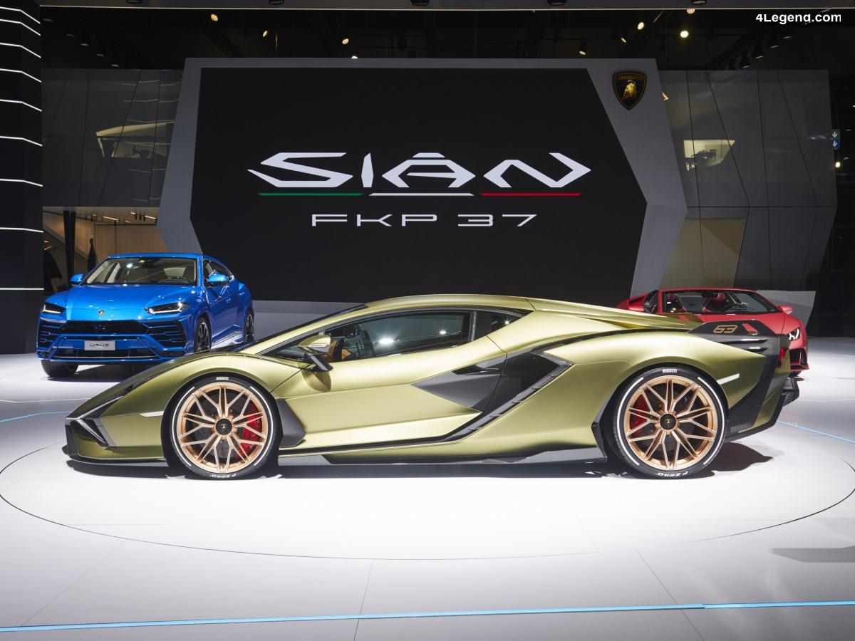 IAA 2019 - Lamborghini Sián FKP 37 : hommage à Ferdinand K. Piëch