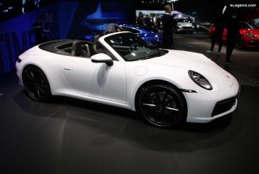IAA 2019 – Nouvelles Porsche 911 Carrera 4 Coupé et 911 Carrera 4 Cabriolet