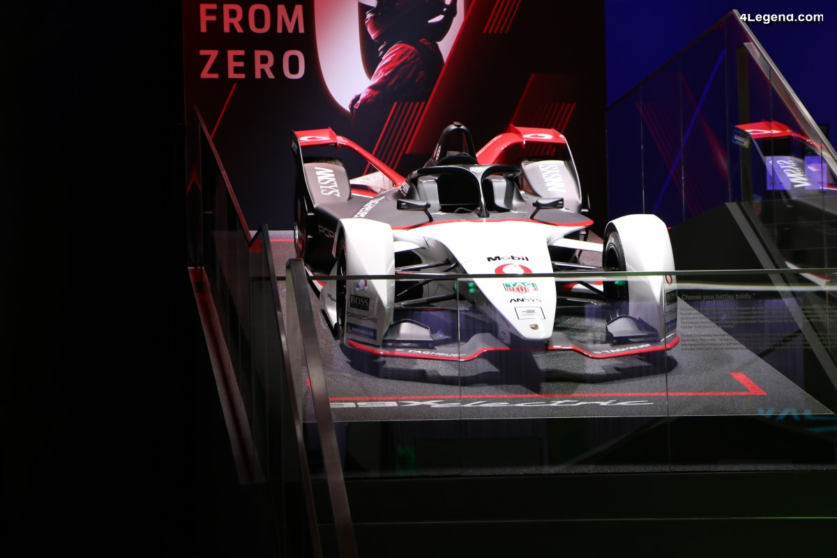 IAA 2019 - Première mondiale de la Porsche 99X Electric de Formule E
