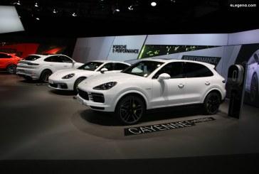 IAA 2019 – Nouveaux Porsche Cayenne et Cayenne Coupé hybrides rechargeables