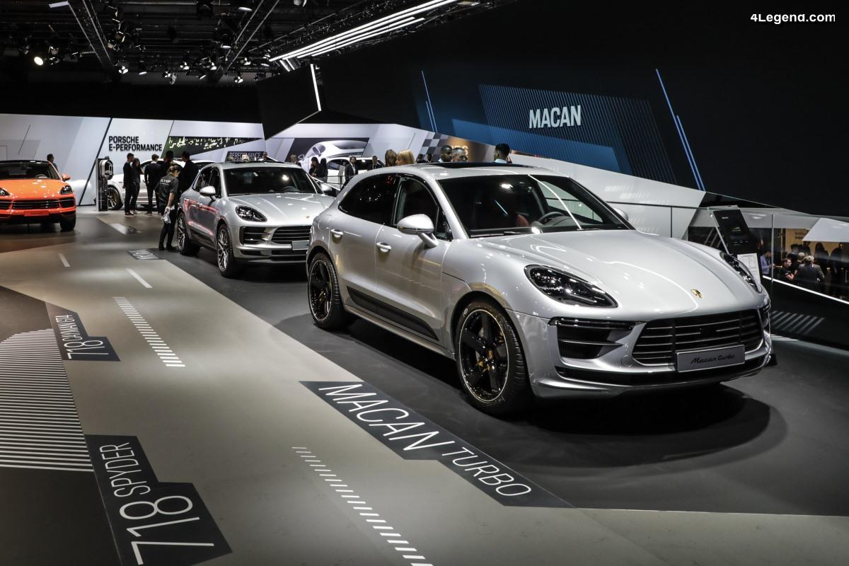 IAA 2019 - Première mondiale du nouveau Porsche Macan Turbo