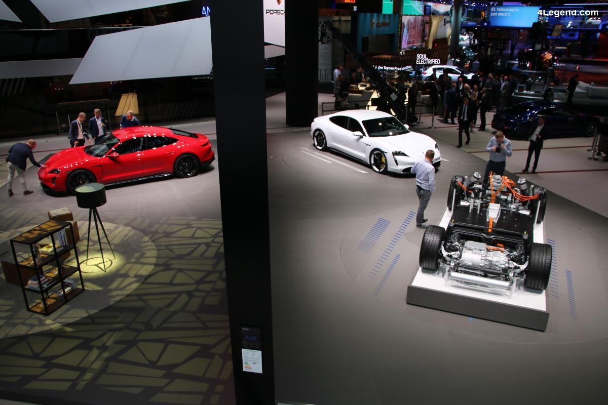 IAA 2019 - Découverte des Porsche Taycan Turbo et Taycan Turbo S