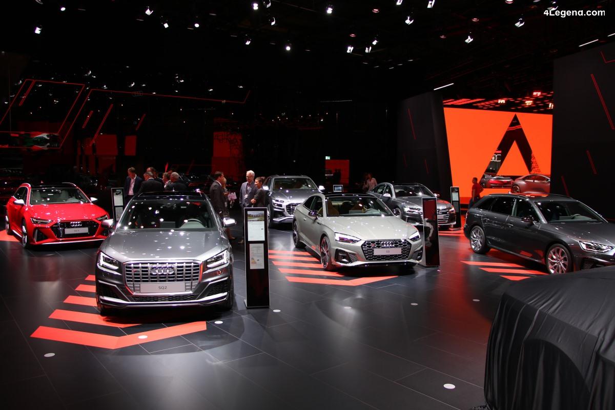 IAA 2019 - Visite en avant première du stand Audi avec les RS 6 Avant et RS7 ainsi que des concept cars