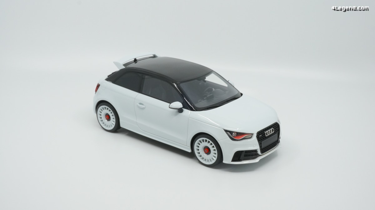 Miniature 1:18 Audi A1 quattro par DNA Collectibles - 15% de réduction