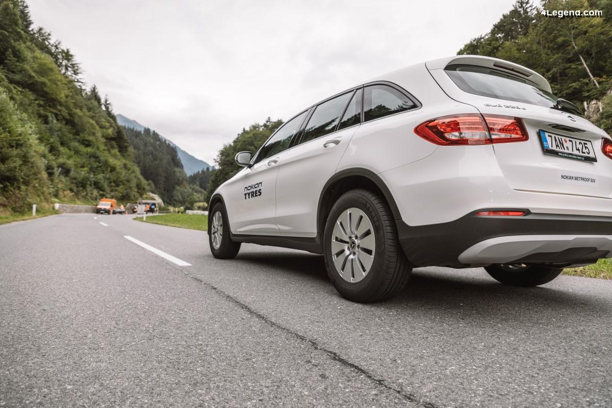 Nouveau pneu Nokian Wetproof SUV - Un pneu SUV sécuritaire sur sols secs et humides