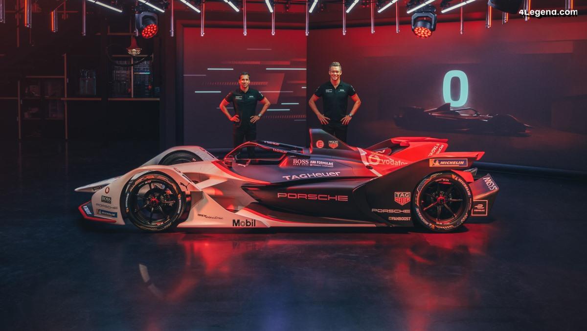 Débuts de la Porsche 99X Electric avec près d'un million de téléspectateurs sur Twitch