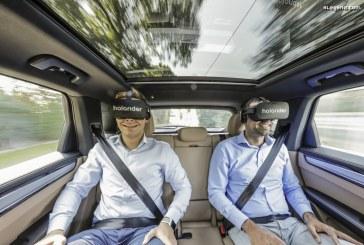Porsche, Holoride et Discovery présentent une nouvelle expérience de réalité virtuelle dans un Cayenne