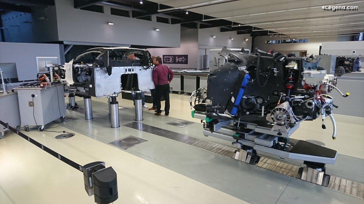 Visite de l'Atelier Bugatti à Molsheim - Comment sont fabriquées une Chiron et ses dérivés?