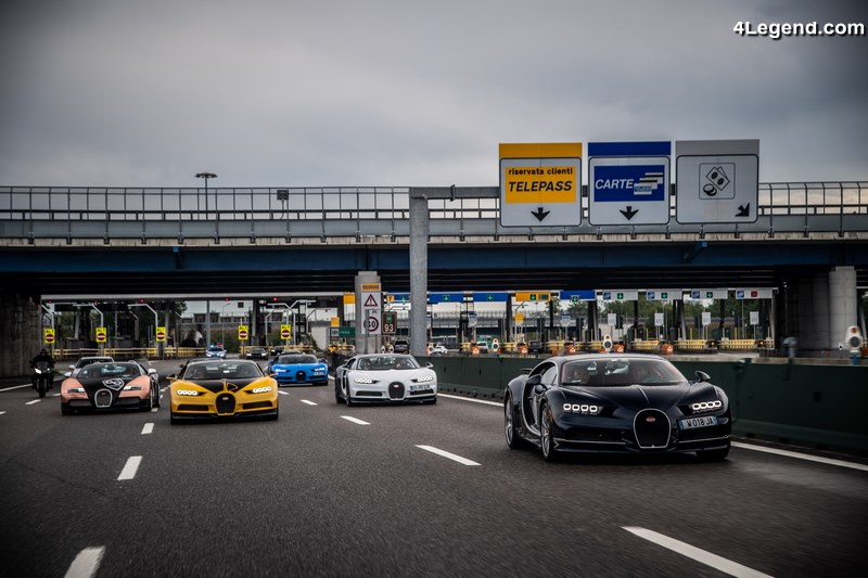 The Grand Tour 2019 - 23 Bugatti Veyron et Chiron sur la ...
