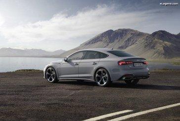 La famille Audi A5 passe par la case restylage : un design plus attrayant